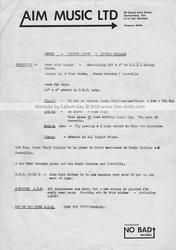 1978 Tour Documents