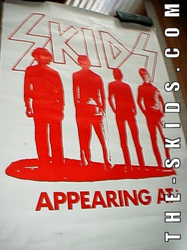 Skids Appearing At Poster