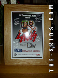 ABC 5th March 2010 Signed