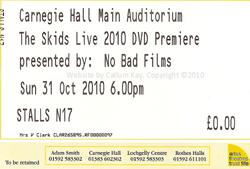 Skids DVD Premiere 31.10.10
