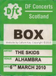 Skids Alhambra 06.03.10 BOX PASS