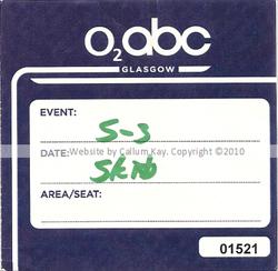 Skids O2 Glasgow 05.03.10 PASS