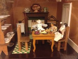 Early 20th Century Dolls' House - Kitchen
