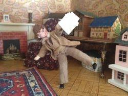 Bernard is doing cartwheels - he has news of Rita!