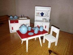 Barton Kitchen Furniture & Dol-Toi Tea Set