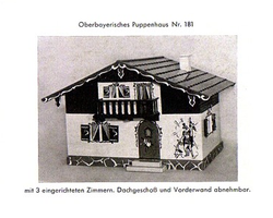 1950s Catalogue photo of my chalet.
