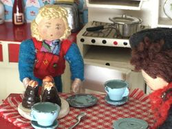 Rabbie had been worryingly quiet during supper and had only picked at his food in a most uncharacteristic manner.