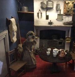 Kitchen. Nunnington Hall baby house.