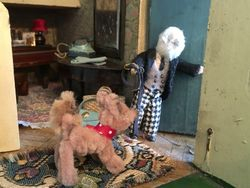 Cedric couldn't resist a quick listen at the drawing room door before he left the house - silence.  His suspicions were confirmed.