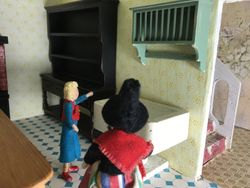 Olwyn had interviewed most satisfactorily and after a brief tour of the Hall, she and Joyce were back in the kitchen.