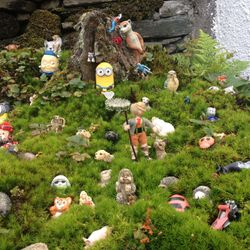 ...that he was in an Alpine glade, surrounded by all manner of strange creatures.