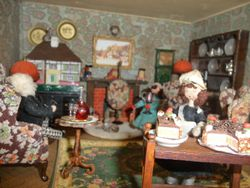 """""""Would Sir like a piece of Modom's 'prize-winning' cake?"""" interjected Sally dryly."""