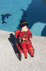 It seemed like only yesterday he had been sunning himself by the pool in Palm Bay, Florida.