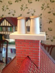 Strangely Chuffed with the Chimneys!
