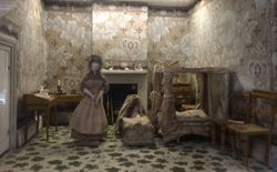Bedroom. Nunnington Hall baby house.