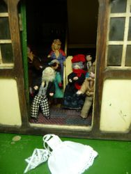 There on the doorstep lay Mrs McWraith's uniform...
