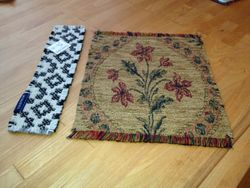 Welsh Wool Bookmark and Upholstery Material Rugs