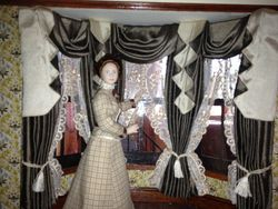 Clara's New Curtains!