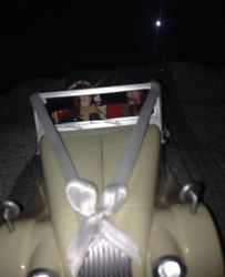 The celebrations have ended and the happy couple heads off on honeymoon.