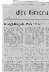 Grecondom Awoke to Shocking Headlines