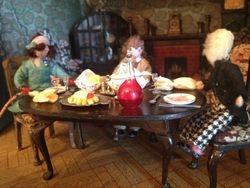 Cedric's son, Bernard, has been invited to dinner.