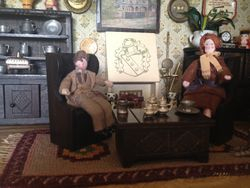 Bernard and Rita find a quiet corner in the hastily constructed country pub and Rita continues her story.
