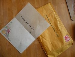 Meanwhile in No. 36, Dorcas and Kitty have received something in the post too.