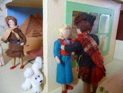 """Ah will ne beat aboot the bush, Joyce, lassie,"" said Rabbie,"