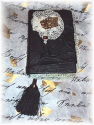 """""""LEATHER and LACE""""-STEAMPUNK JOURNAL"""
