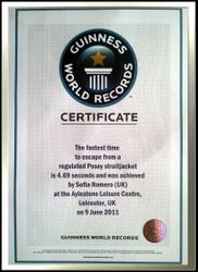 My First Guinness Certificate