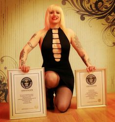 With My Two Guinness Certificates