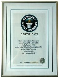 My Second Guinness Certificate