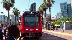 San Diego Trolley Light Rail System