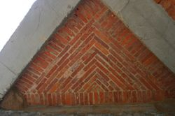 Funicular Shell with Brick