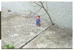 Little kid all alone