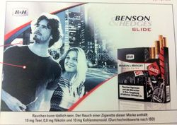 Benson and Hedges Germany