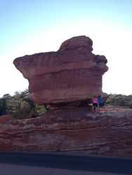 Balance Rock at Garden of the Gods