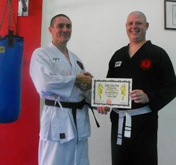 Wienand Yellow Belt Kickboxing