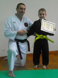Joeseph yellow Belt
