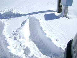 More snowed in