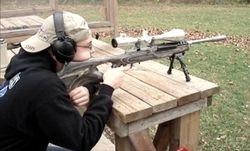 Shooting my dad's (RPB) Mini-14 Target