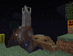 Watch Tower with bridge