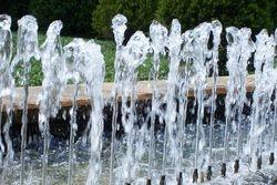 Water Frozen in Time