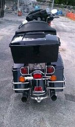 DJ^D-1's Harley (back view)