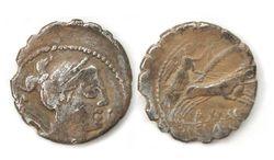 Roman Republican Silver Denarius