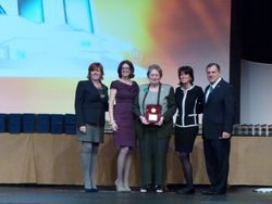 Susan Fleming- Admin of the year 2011