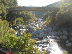 S Yuba River at the 49 Bridge