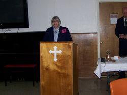 District 23 Lt Governor Rhonda Hershey