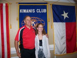 Stewart C Meyer ROTC Scholarship winner