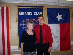 H B Davis Memorial Scholarship winner